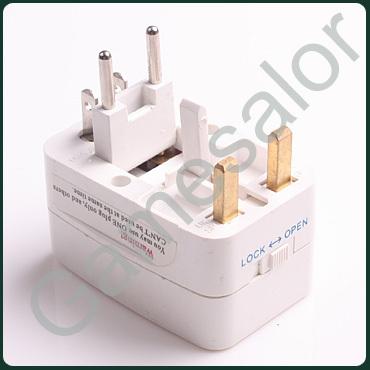 Universal World Charger Plug All-in-one Travel AC Power Adapter Converter to US UK AU EU PLUG YB241-SZ(China (Mainland))