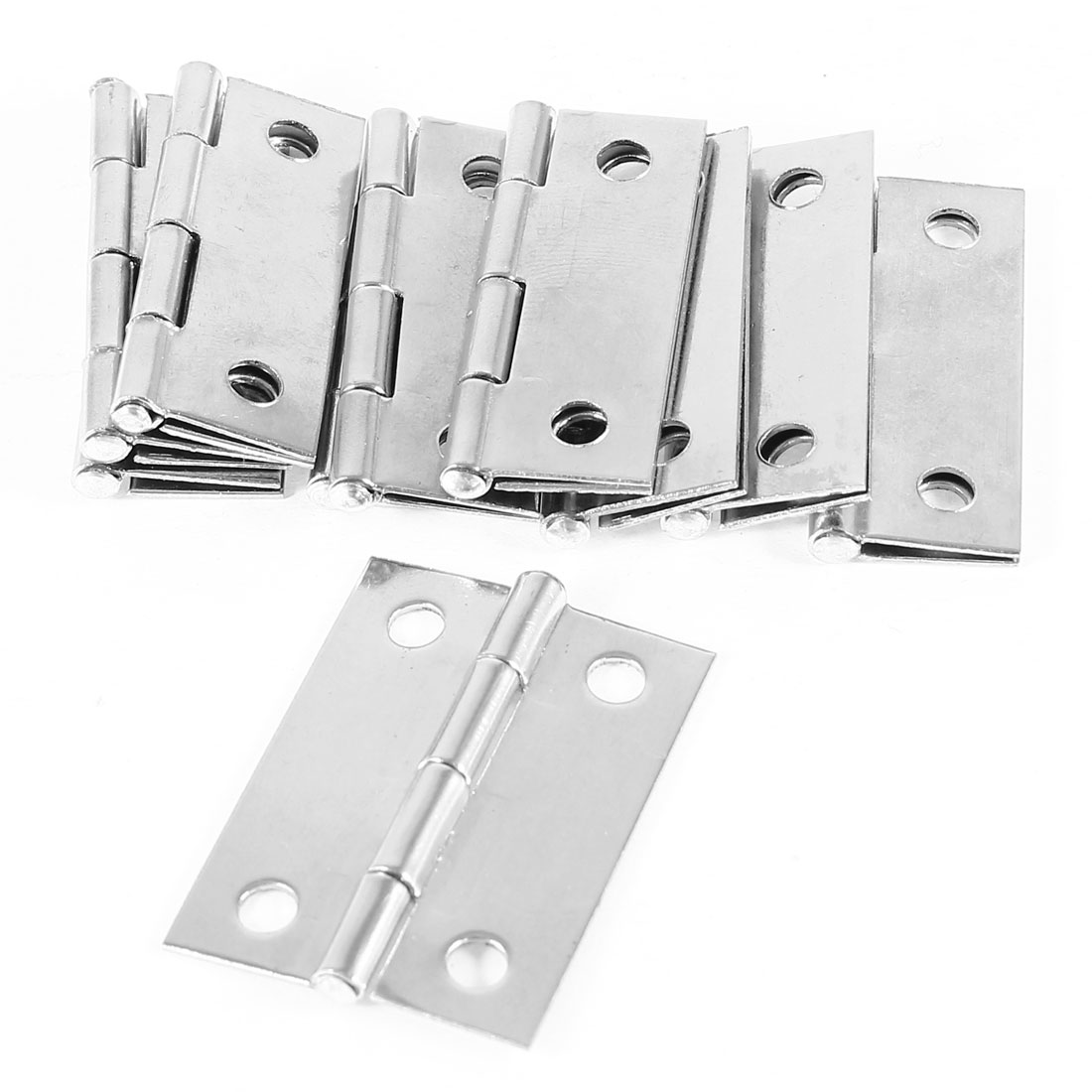 """10 Pcs/lot Cabinet Drawer Door Stainless Steel Butt Hinges 1.5"""" Length(China (Mainland))"""