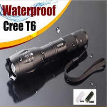 3800 lumen Led-taschenlampe CREE xml T6 Led 3 xAAA 18650 Wasserdichte Taschenlampe Starke Licht E17 Cree XML T6 Taktische Taschenlampe Laterne(China (Mainland))