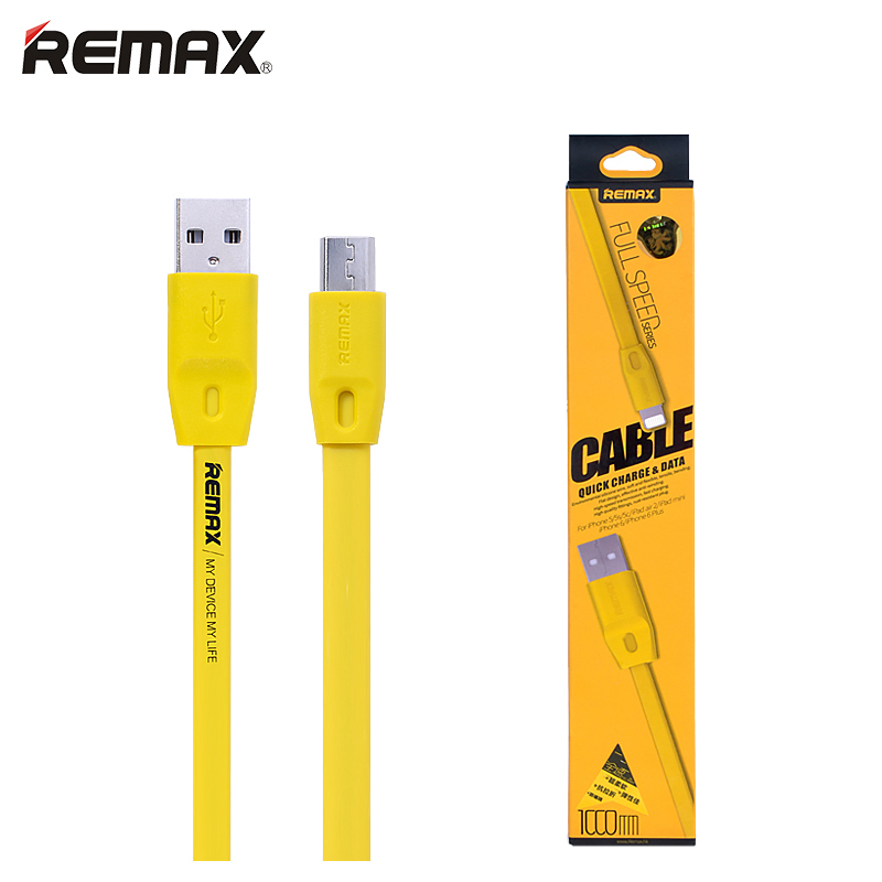 Гаджет  1m 1.5m 2m Long Micro USB Cable Charging Data Trasmit Flat Wire Original Remax 100cm 150cm 200cm Optional None Телефоны и Телекоммуникации