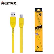 1m 1.5m 2m Long Micro USB Cable Charging Data Trasmit Flat Wire Original Remax 100cm 150cm 200cm Optional