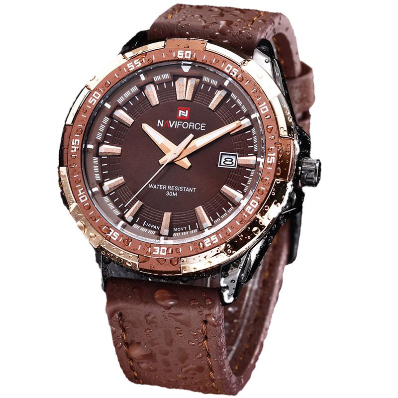 naviforce brand mens watches top brand luxury