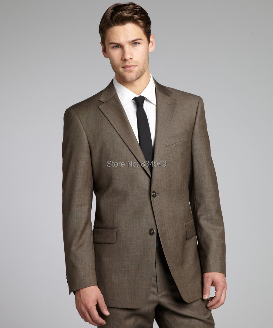 Men Suits for Wedding Brown Promotion-Shop for Promotional Men