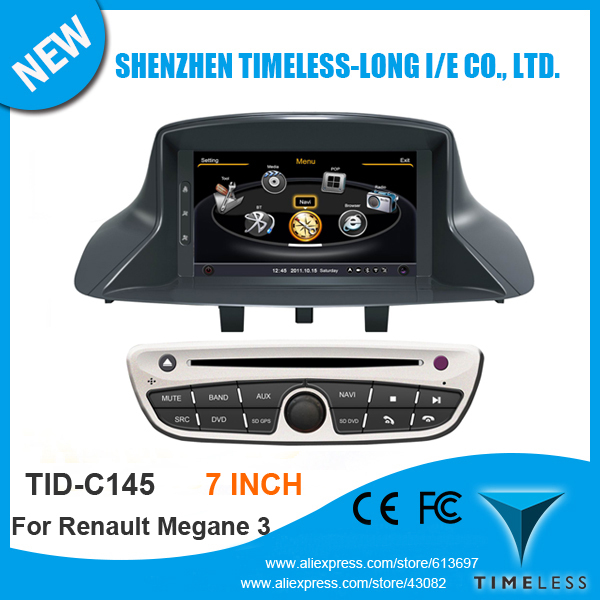 3G A8 Chipest Car DVD Headunit Player For RENAULT MEGANE III 3 2009-2011 FLUENCE With GPS Navigation Radio Bluetooth TV Free Map(China (Mainland))