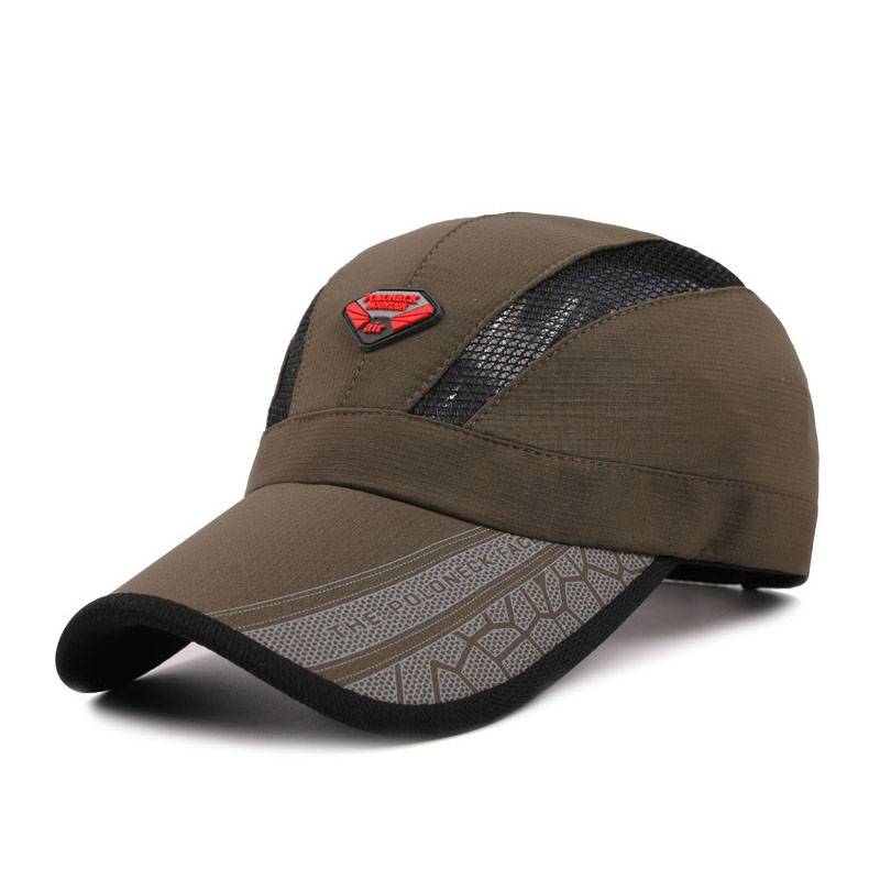 2016 Men Baseball Cap Summer Outdoor Breathable Sun Protection Hat Sport Caps Z-3053()