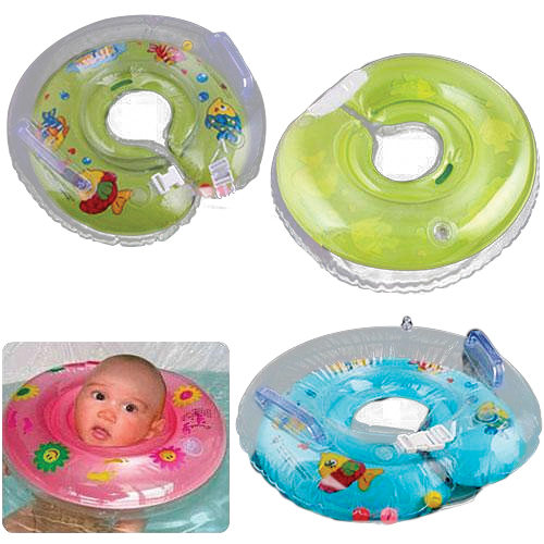 1PC New Baby Aids Infant New Born Bady Swimming Neck Float Ring Safety Free Shipping 003J(China (Mainland))