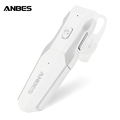 ANBES Fashion Red Bluetooth Earphones Wireless Stereo Music Headset Earplugs Sport Earphone for Outfdoor Sport Running