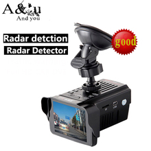 Russian Voice Anti-Radar 2.7″ LCD Screen DVR Camera Car Cam Recorder    720P Resolution Radar Speed Detector GPS G-Sensor VGR-2