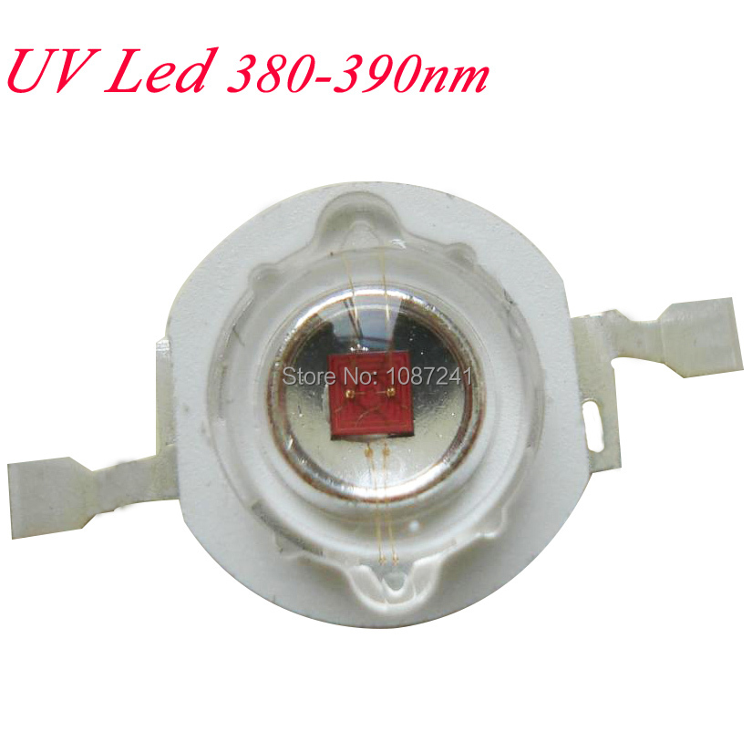 Promotion!! UV LED 365nm 3w high power led diodes,50pcs/lot  with Free Shipping<br><br>Aliexpress