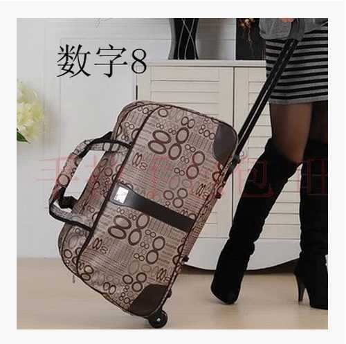2014, rod bag rolling suitcase travel bag for postage(China (Mainland))