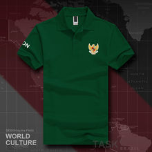 Republic of Indonesia IDN polo shirts men short sleeve white brands printed for country 2018 cotton nation emblem new fashion(China)