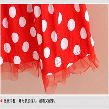 2015 summer girls suits dot sets children clothing set baby clothes short sleeve T shirt dress