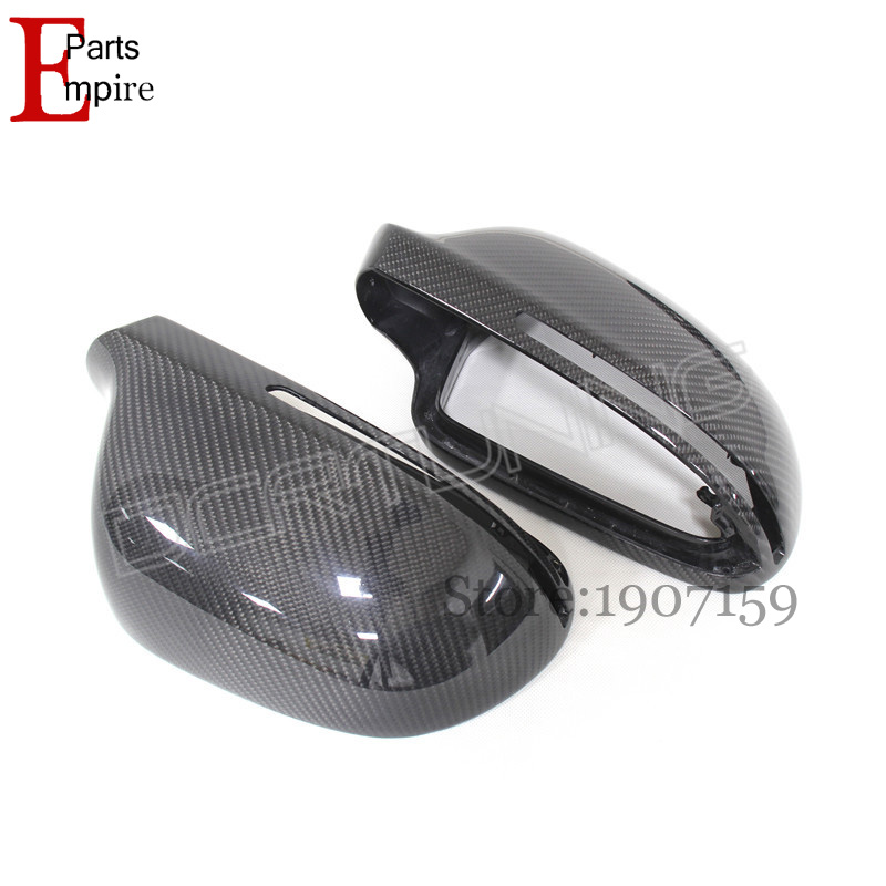 For Audi A4 2008-2015 A5 2008-2009 A6 2008-2012 Q3 2012-2015 Replacement Carbon Fiber Rear View Side Mirror With Lane Assit<br><br>Aliexpress