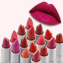 Brand Lipstick Makeup Beauty  For Women Pink Baby Lips Matt Balm Waterproof Batom Ladies Gift Cosmetic(China (Mainland))
