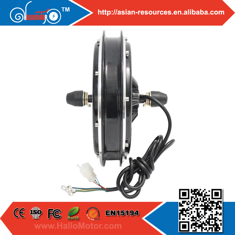 48V 1000W Electric Bicycle Motor Ebike Brushless,Gearless Hub Front Wheel e-bike conversion Kit - Shanghai Leishun Industry Co., Ltd. store