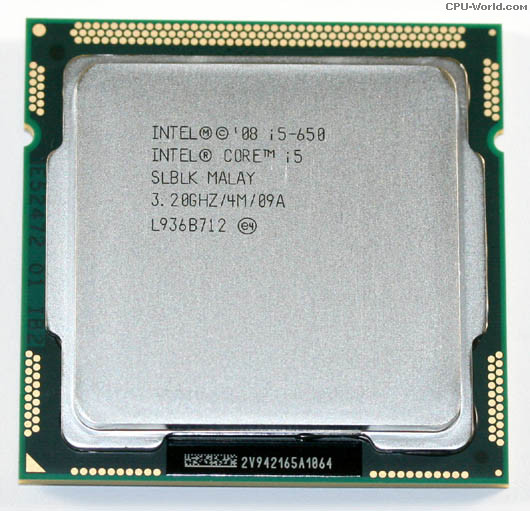 Core i5 650 3.20GHz 4M SLBLK SLBTJ Computer CPU Processor(China (Mainland))