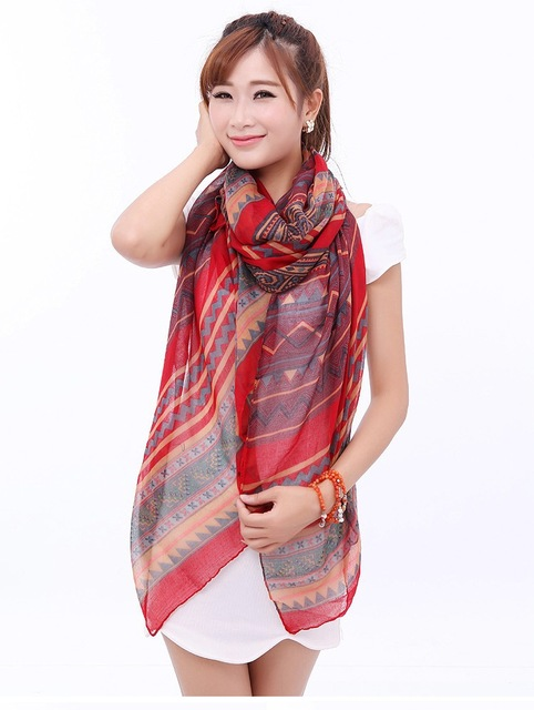 W012 Hot! Fashion New Year Christmas Gifts Wild Super Cute Scarves Scarves Sun Beach Wholesales Jewelry