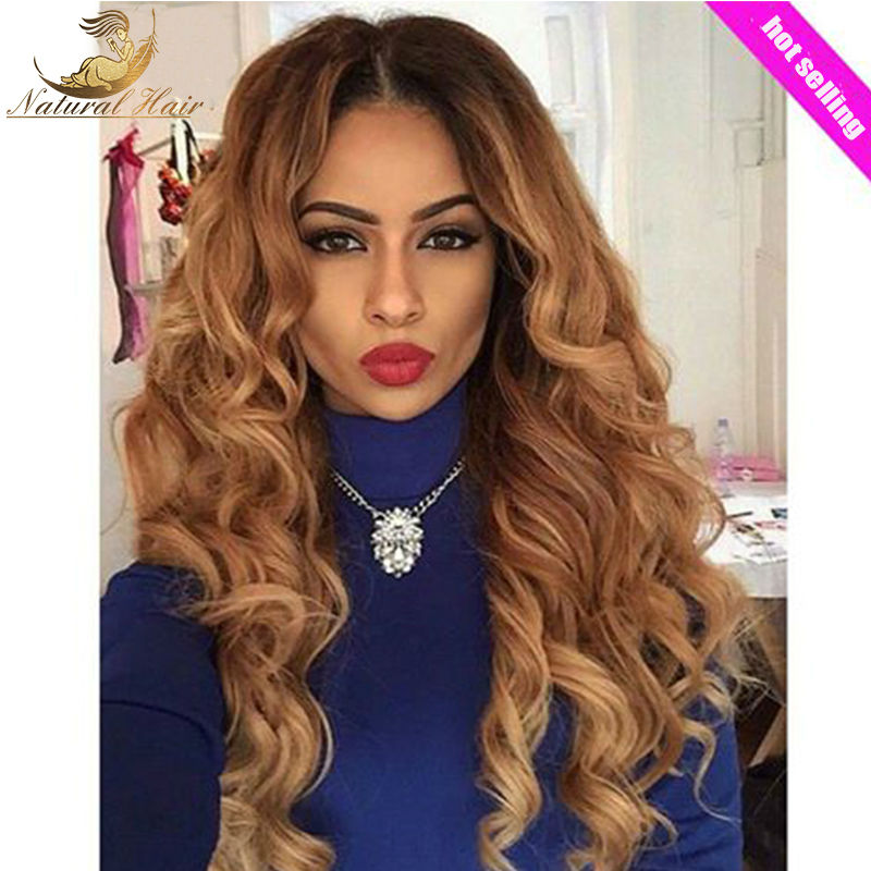 Top 7A Grade Full Lace Wig Cheap Human Hair Lace Front Wig Glueless Wig Best Full density Virgin BrazilianThick Human Hair Wig