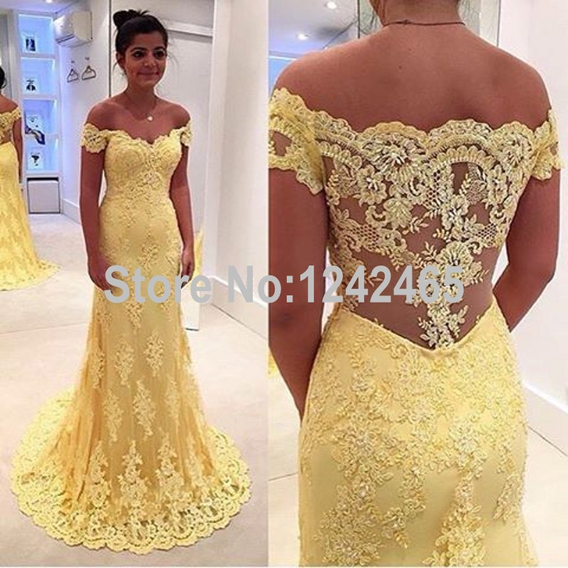 Mermaid Off Shoulder Long Formal Dresses Long Evening Gowns Lace Appliqued Evening Dresses Online Shopping QM100(China (Mainland))