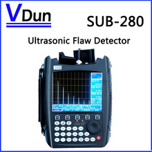5.7 inch large screen  Portable Digital Ultrasonic Flaw Detector   Ultrasonic leak detector SUB-280(China (Mainland))