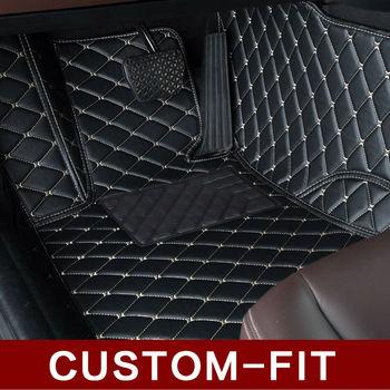 Custom fit car floor mats for BMW 3/4/5/6/7 Series GT M3 X1 X3 X4 X5 X6 Z4 3D car-styling all weather carpet floor liner