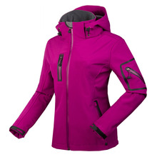 2016 NEW Softshell Jacket Women Outdoor Sport Women's Hiking Jackets Waterproof windstopper Brand clothes For Camping Ski Golf