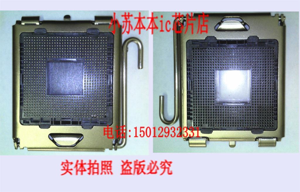 Free shipping 5p / lot black screw locking socket 775 CPU nest vacuum bag [ Store No.1306037 ](China (Mainland))