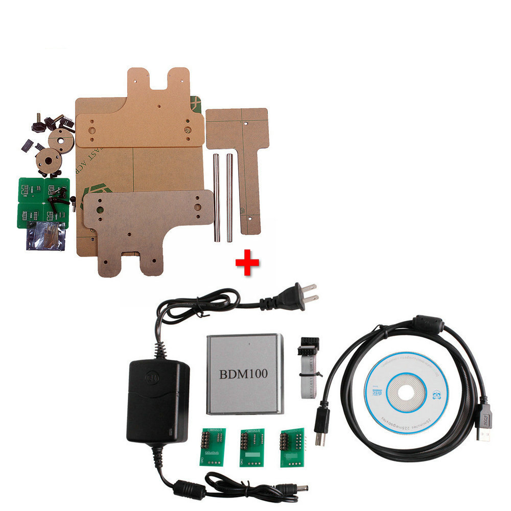 High Quality BDM FRAME With Adapters + BDM100 Programmer Ecu Interface<br><br>Aliexpress
