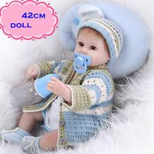 2016 Последние Моделирования Силиконовые Возрождается Ребенка Куклы Около 18 дюймов Реалистичные Горячей Продажи Куклы Младенца Новорожденного Для Детей Лучших партнер
