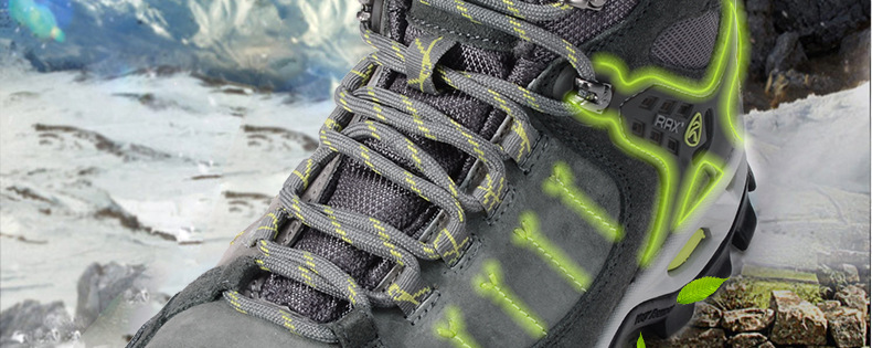 RAX Warm Hiking Shoes Man Waterproof Man Shoes For Autumn And Winter