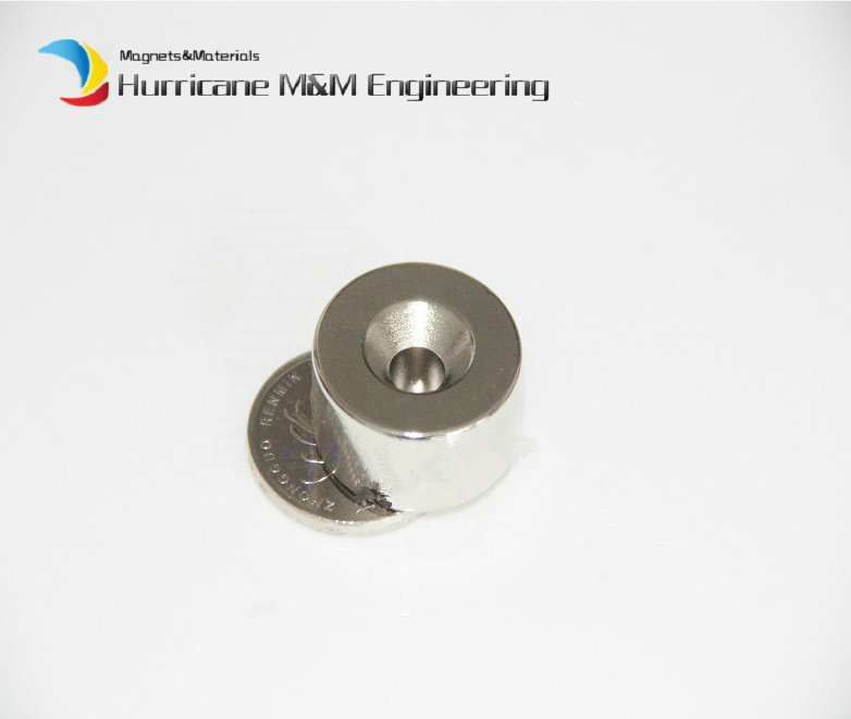 12 pc NdFeB Countersunk Magnet Dia. 25 x 10mm thick M5 Screw Countersunk Hole Grade N42 Neodymium Rare Earth Permanent Magnet<br><br>Aliexpress