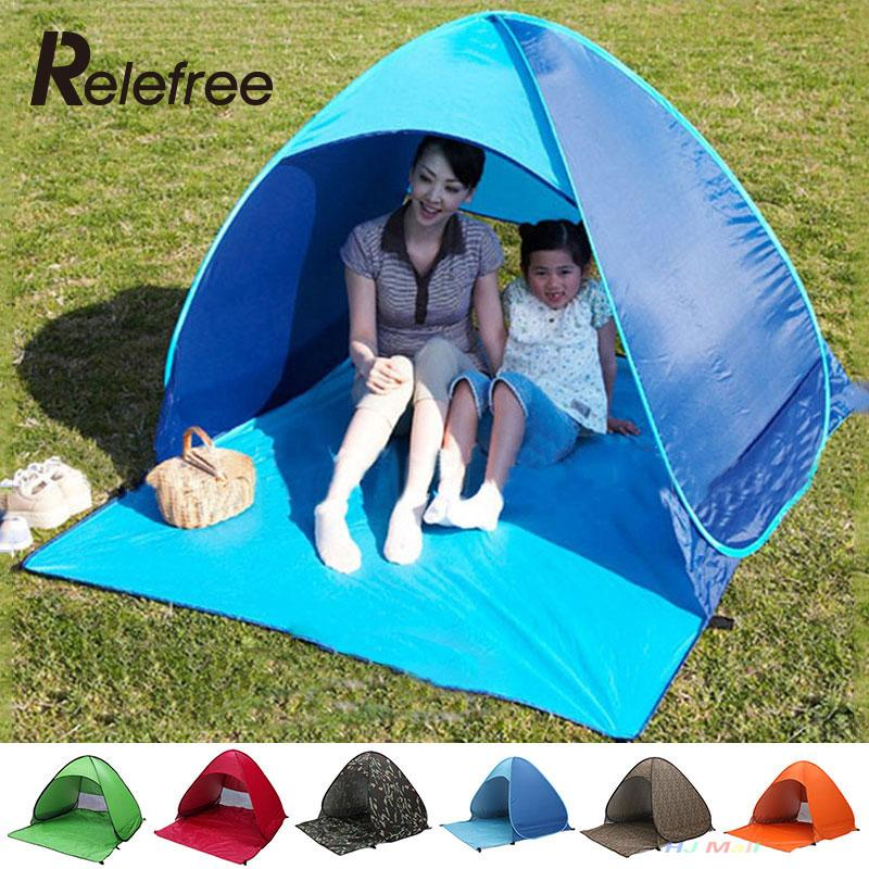 Quick Automatic Pop Opening Outdoor Camping Tent Hiking Beach Tent Party Tent Sun Shade Pop Up Tent(China (Mainland))