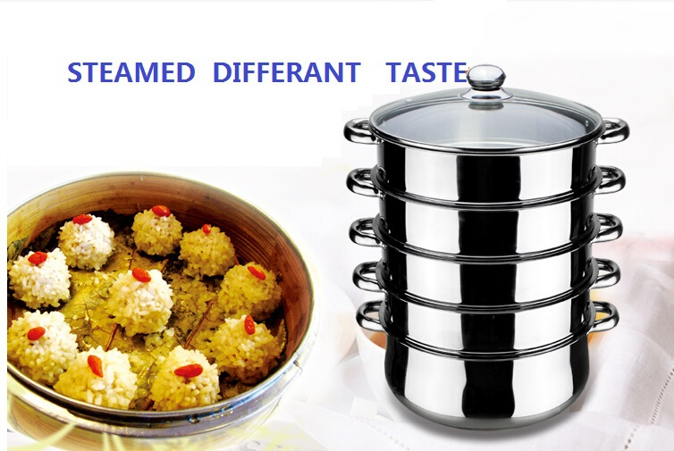 Cooking Pot Steamer ~ Free shipping large size stainless steel food steamer pot