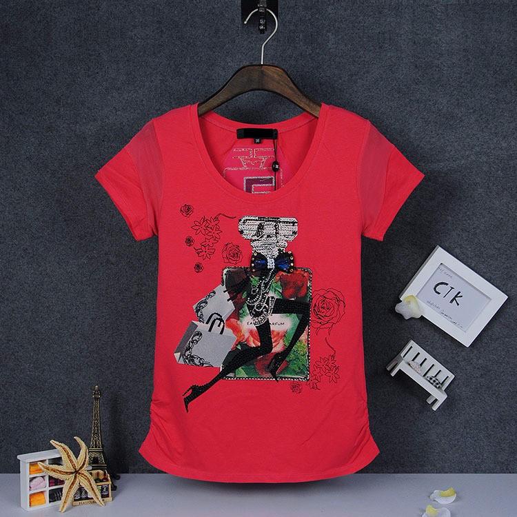 Trasher Calvin Women Perfume Bottle PrintedT Shirt Blusas Casual Short Sleeve Plus Size T-shirt Original Design Brand Tops Women(China (Mainland))