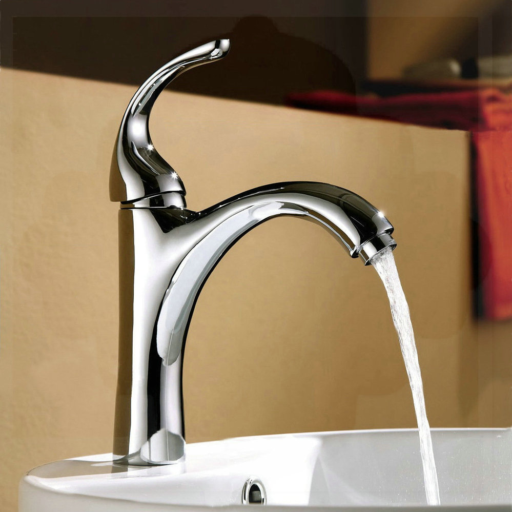 Basin Hot And Cold Faucet Wash Basin Lengthen Spout Decorative Outdoor Water