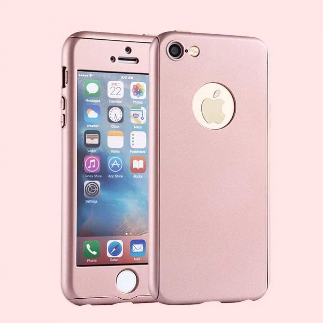 Full Body Coverage Ultra Thin Front&Back Cover Screen Protector for Apple iPhone 5s Case Hard Mobile Phone Cases iPhone SE Case(China (Mainland))