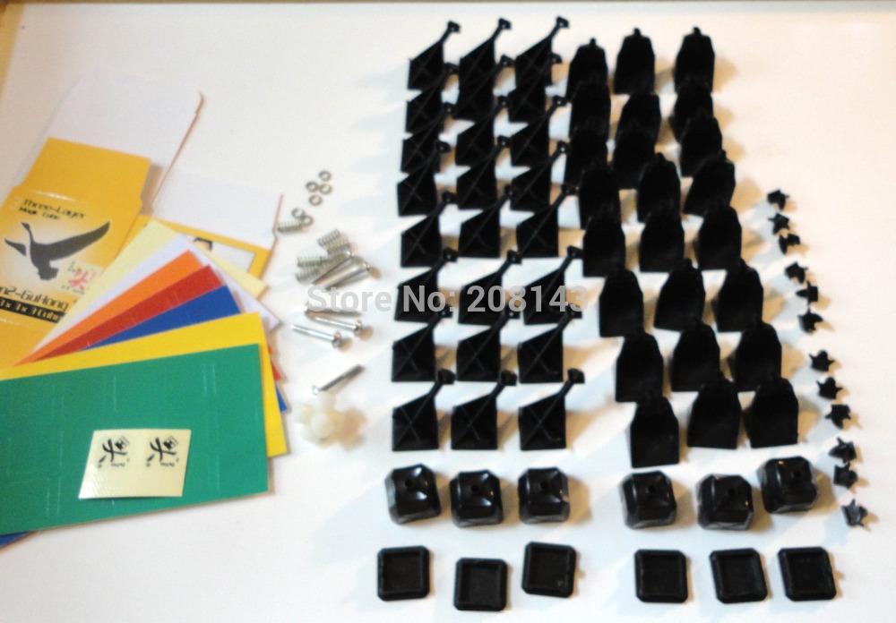 Dayan GuHong V2 57mm Black DIY Kits Magic Cube Puzzle Cube Free Shipping by SingPost(China (Mainland))