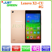 Original Lenovo VIBE X2-CU 4G LTE Mobile Phone MT6795 Octa Core 2.0GHz 5″ 1080P 2GB RAM 16GB ROM 13MP GPS Dual Sim Android 4.4