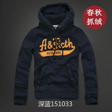 Men hoodie sweatshirt jacket fleece plus velvet spring winter fashion brand outlet plus size 3XL 4XL 5XL men hoodie(China (Mainland))