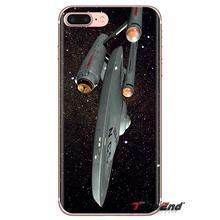 Star Trek Nave Espacial Da Arte Para Samsung Galaxy S3 S4 S5 Mini S6 S7 Borda S8 S9 S10 Plus Nota 3 4 5 8 9 transparente Macio Casos Covers(China)