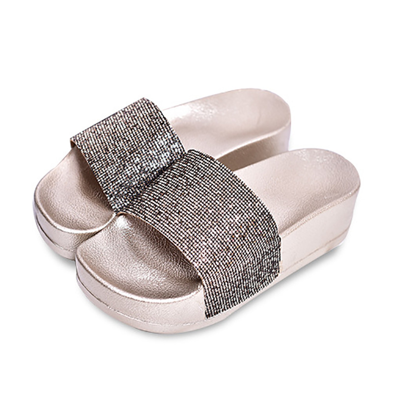 New 2016 Shoes Woman Sandals Lovely Jelly Shoes Solid Casual Wedges Slippers Summer Trifle Fashion Slides Flats Free Shipping(China (Mainland))