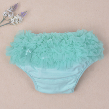 Infant Toddler Girls Diper Cover Ruffled Panties Baby Girls For Lovely Newborn Baby Shorts Pant Bloomers 14colors  Free Shipping(China (Mainland))