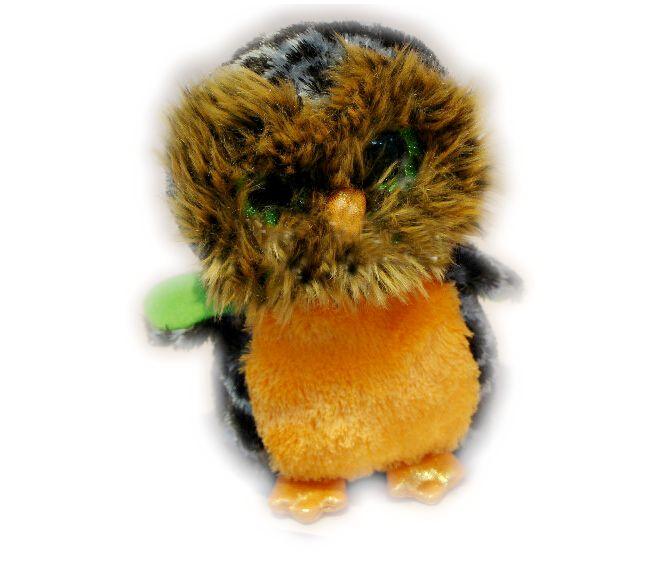 Ty Beanie Boos Halloween Midnight Orange Owl Plush Soft toy T274(China (Mainland))