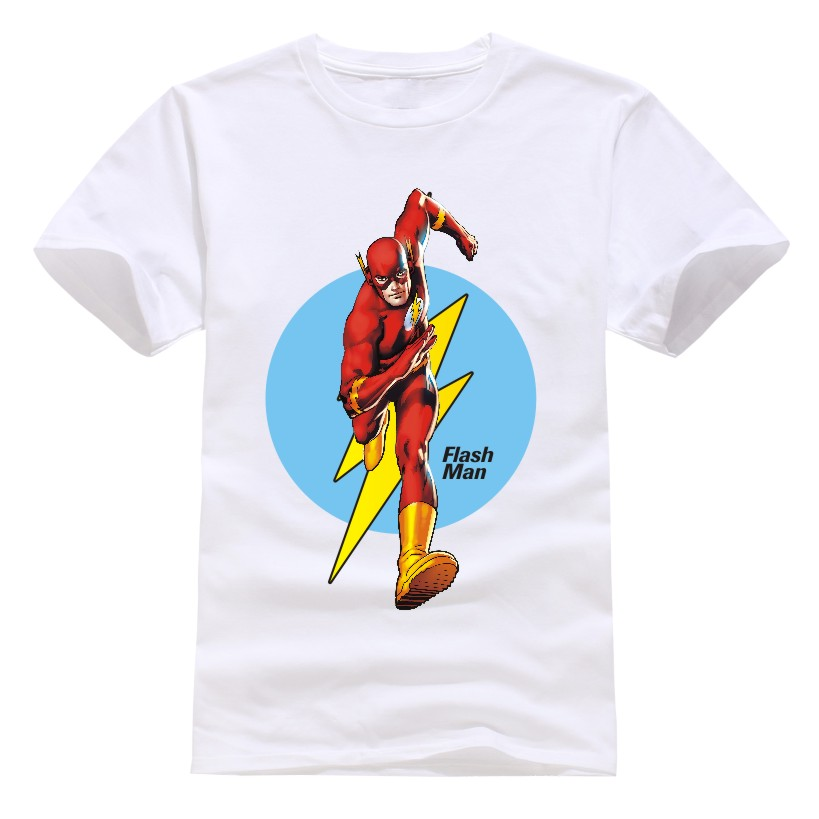 New Arrival The Big Bang Theory The Flash Men T Shirt Design Personalized Male Casual Tee Shirts Top Cotton t-shirts Sale(China (Mainland))