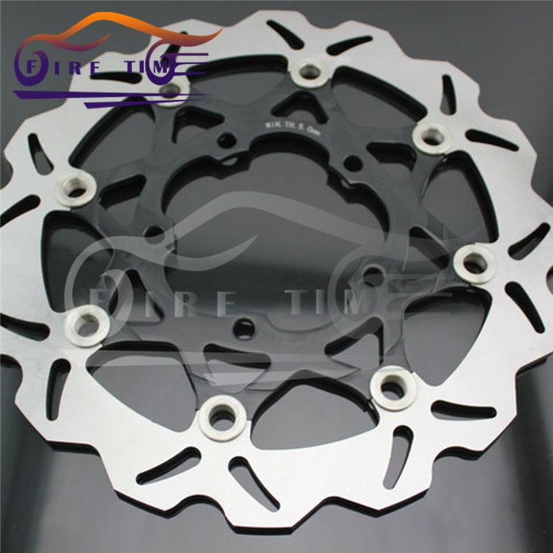 2 pieces   NEW style  motorcycle  Front   Brake Discs Rotor  FOR Suzuki GSXR1000 2005 2006 2007 2008
