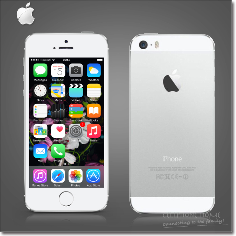"Original Apple iPhone 5S Unlocke Cell phone Dual-Core 16GB/32GB ROM A7 IOS 8 4.0""IPS 8MP WIFI 3G NFC White Black Gold USED Phone(China (Mainland))"