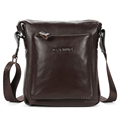UniCalling brand man bag of leather fashion casual top layer cowhide genuine leather men s messenger