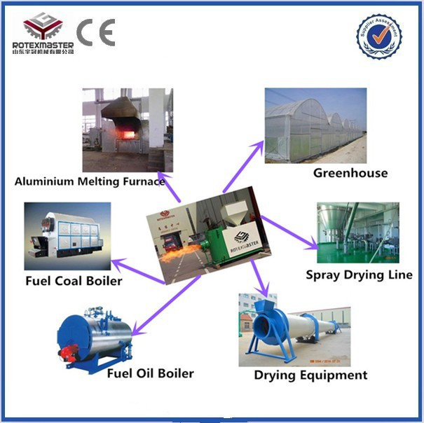 2015 CE Approval High Efficinecy Biomass Pellet Burner / Burning Machine for steam boiler heating system(China (Mainland))