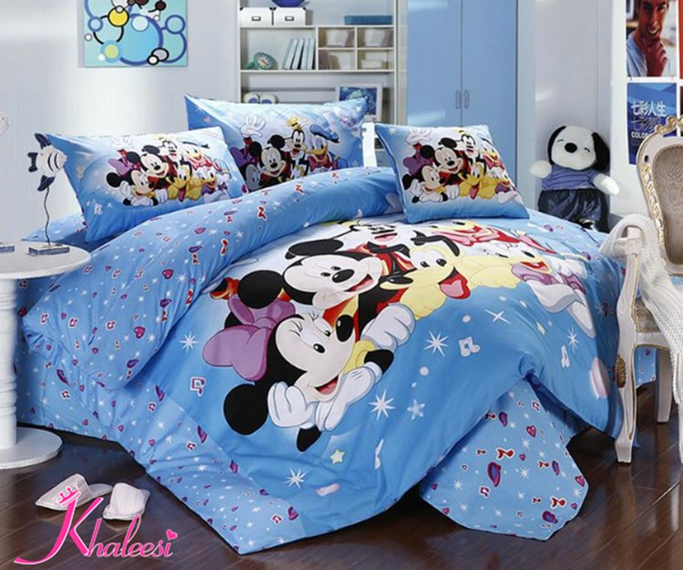 Hot Mickey Minnie Mouse Bedding Set Mickey Mouse Duvet