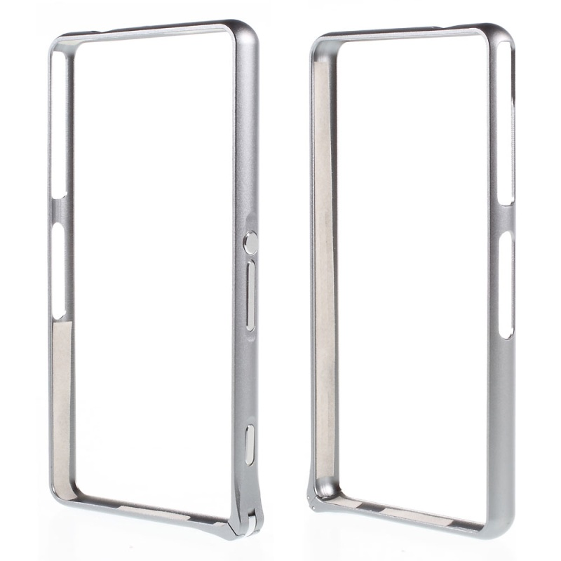 "for Sony Z3 Compact (4.6"") Case Hippocampal Buckle Metal Bumper Rim for Sony Xperia Z3 Compact D5833 M55w(China (Mainland))"